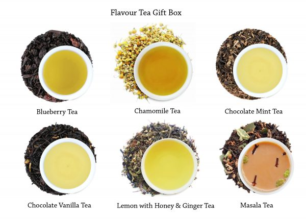 Flavoured teas at a glance