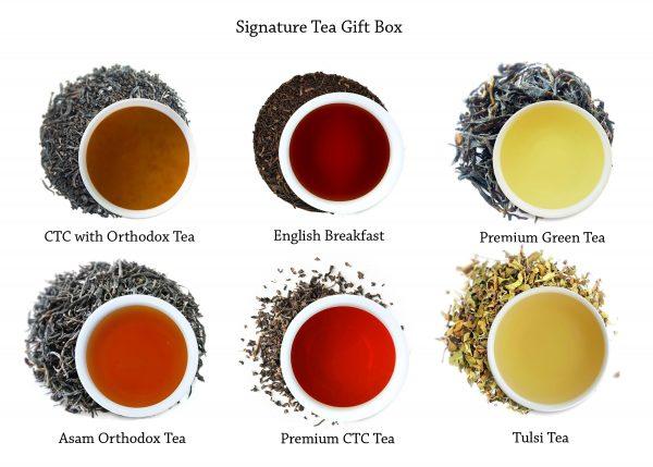 Signature teas at a glance